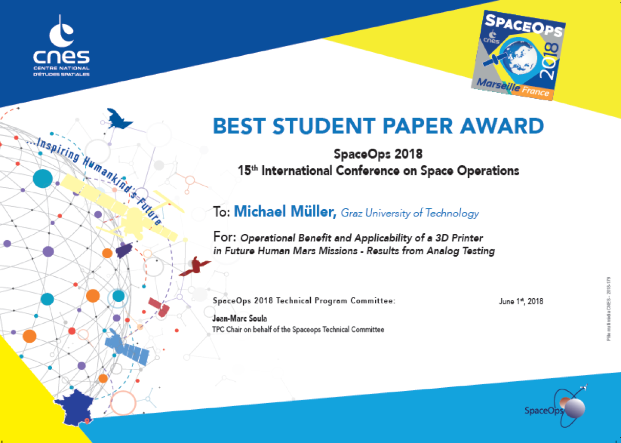 best papers spaceops 2018 the 15th international conference on